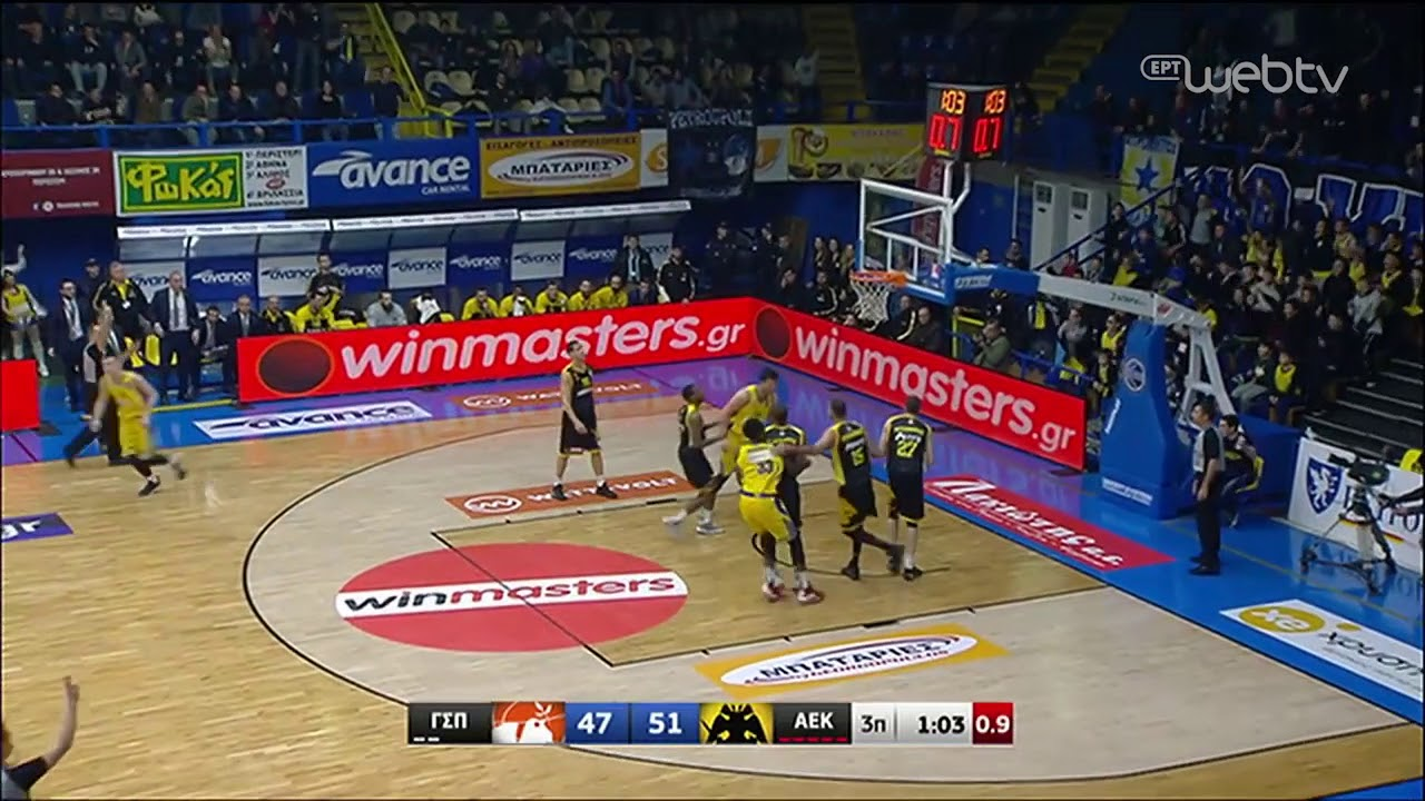 Basket League 2019-2020: ΠΕΡΙΣΤΕΡΙ – AEK | HIGHLIGHTS | 25/01/2020 | ΕΡΤ