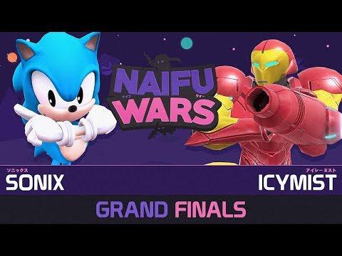 Naifu Wars #14 Grand Finals - Sonix (Sonic) vs Icymist (Samus) - Smash Wii U