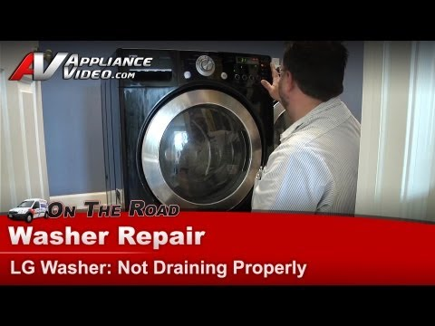 LG Washer Repair – Not Draining Properly – WM2277HB