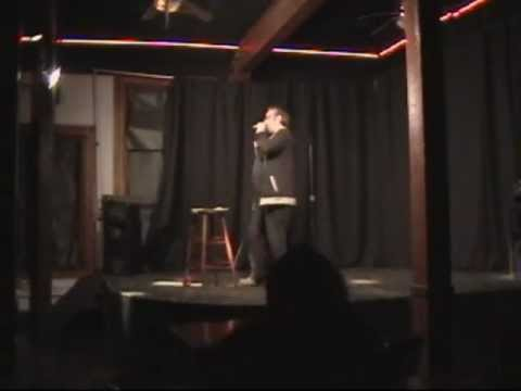 Bruce Leonard at Tickets Sports Cafe (explicit content)