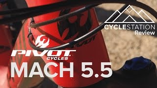 Image: Pivot Mach 5.5 Bike Review