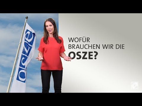 Wofür brauchen wir die OSZE?