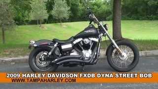 9. Used 2009 Harley Davidson  Street Bob Motorcycles for sale - Daytona Beach, FL