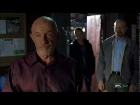 Breaking Bad season five episode three Mike scene with Walt and Jesse