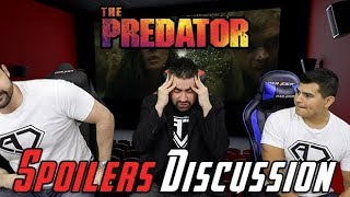 Video The Predator Spoilers Discussion MP3, 3GP, MP4, WEBM, AVI, FLV Januari 2019