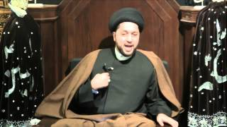 "5th Night of Muharram 1435: ""With Your Leader is Where You Stand"" by Sayed Mothafar Al-Qazwini"