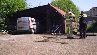 Brandweer krijgt verkeerde adres door bij brand