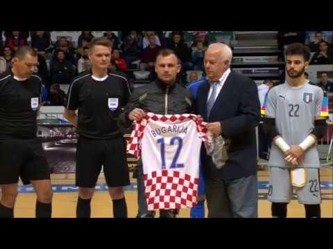 Reportaža: Hrvatska - Italija 2:1 (futsal)