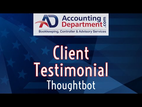 Outsourced Accounting And Bookkeeping Services | Customer Testimonial