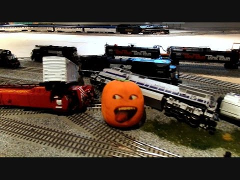 The Stupid Orange In Train Wreck