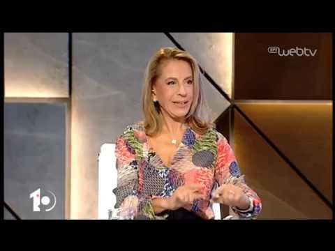Η Ειρήνη Αγαπηδάκη και ο Απόστολος Δοξιάδης στο «10» | 26/11/2019 | ΕΡΤ