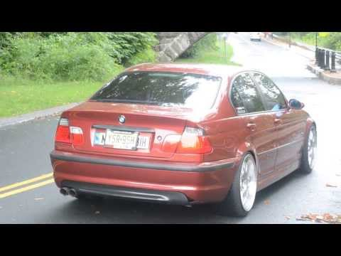 BMW E46 323i Custom Exhaust Rev+take off