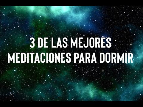 3 DE LAS MEJORES MEDITACIONES GUIADAS PARA DORMIR (COMBINADAS EN UN SOLO AUDIO) | ❤ EASY ZEN