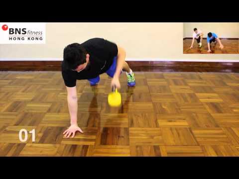 健身超快方法十分鐘簡單WORKOUT:單啞鈴鍛煉