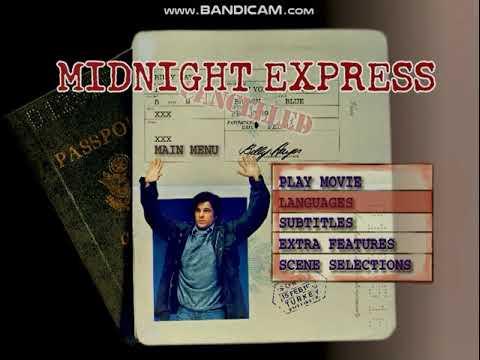 Midnight Express 1998 DVD menu walkthrough