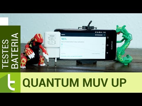 Autonomia do Quantum Muv Up  Teste de bateria oficial do TudoCelular