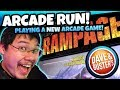 NEW Rampage Game Arcade at Dave and Busters BONUS WIN and Claw Machines! Arcade Fun Run TeamCC
