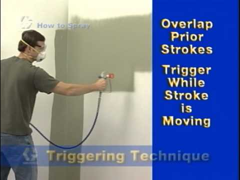 paint sprayer how to - This Graco Paint Spraying video includes great tips on how to use your electric airless paint sprayer including: - Pressure adjustment (how to test quality o...