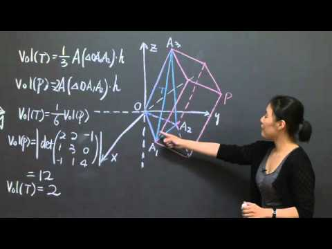 Determinants and Volume | MIT 18.06SC Linear Algebra, Fall 2011