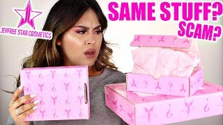 UNBOXING 3 Jeffree Star Cosmetics MYSTERY BOXES!