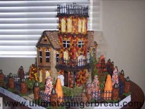 Making of Heidi's Haunted Halloween Gingerbread House - Ultimate Gingerbread