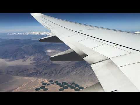 Southern California desert.... Death Valley Region from 33k feet above