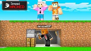 Minecraft Speedrunners VS 4 Hunters (SPEED HACKS)