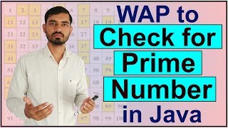 Program to Check Whether A Number is Prime or Not in Java by Deepak