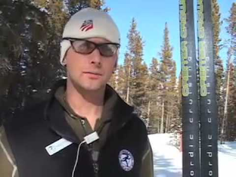 xc ski - Summit County local and former Olympian Matthew Dayton gives some tips on cross country skiing.