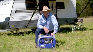 10. Pat Callinan's review on the 2.4kVA Yamaha EF2400iS for caravan use