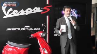 10. #1 Vespa S 150ie & Sergio Mosca