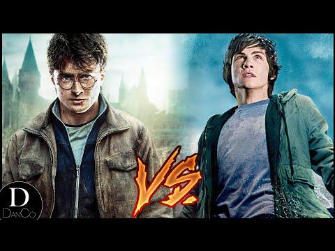 Harry Potter VS Percy Jackson   BATTLE ARENA