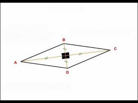 comment construire un losange de 4 cm de côté