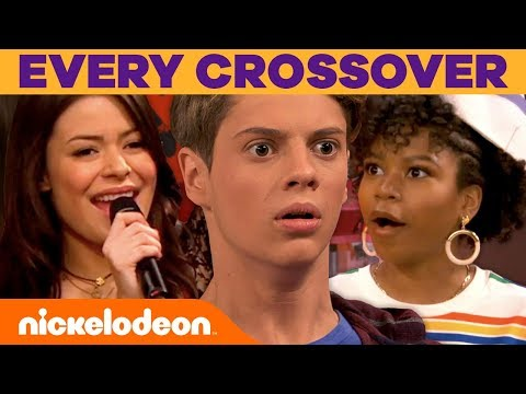 EVERY CROSSOVER EVER! 😃 ft. Henry Danger, iCarly, The Thundermans & All That! | #FunniestFridayEver