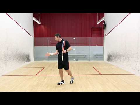 Squash tips: Forehand attacking options with David Palmer - Fast drop