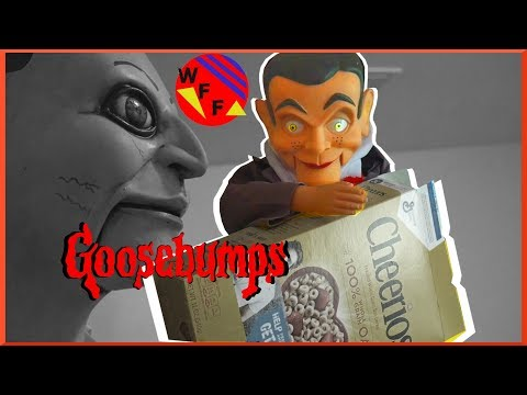 Dummy in The Attic Set Up! Goosebumps Slappy The Dummy Raids the Pantry!