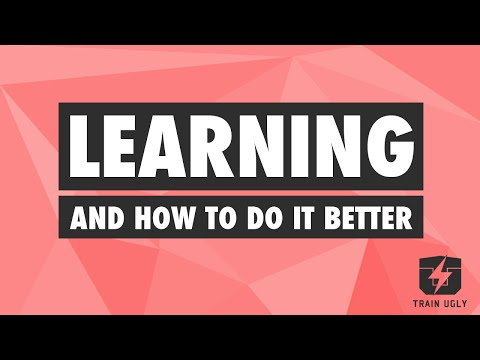 Learning...How to Do it Better