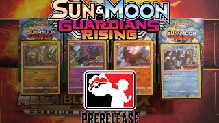 Pokemon TCG PreRelease Guardians Rising Lots of Ultra Rare Pulls ! by Papa Blastoise
