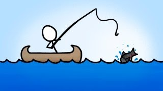 Informative Animation about fishing