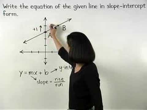 Linear Equations Video