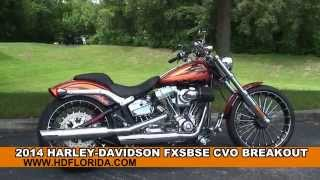 9. Used 2014 Harley Davidson CVO Breakout Motorcycles for sale