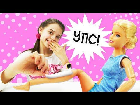 Видео про куклы. Кукла Барби: Спа и подарок для куклы Барби. Игры в Салон … видео