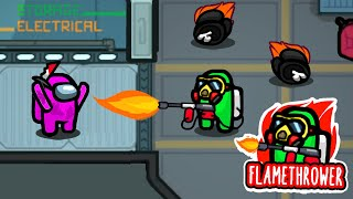 FLAMETHROWER IMPOSTER Mod in Among Us