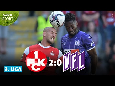 3. Liga: Felix Götze ist zurück! FCK gewinnt gegen Osnabrück | SWR Sport