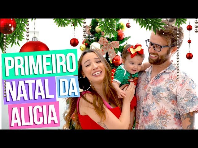 DECORANDO A CASA PRO NATAL - Taciele Alcolea