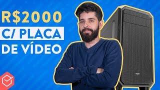 Como ser um afiliado - DESAFIO: Dá para MONTAR UM PC GAMER BARATO até R$2000??