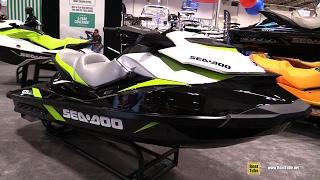 9. 2017 Sea Doo GTI SE 130 Jet Ski - Walkaround - 2017 Toronto Boat Show