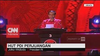 Video FULL - Pidato Jokowi di HUT ke-46 PDI Perjuangan MP3, 3GP, MP4, WEBM, AVI, FLV Maret 2019