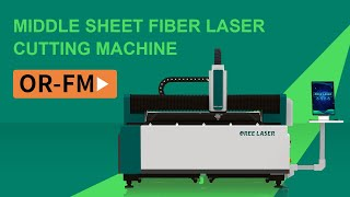China Manufacturer High Precision Carbon Steel open table FM3015 3000W CNC laser cutting machine youtube video