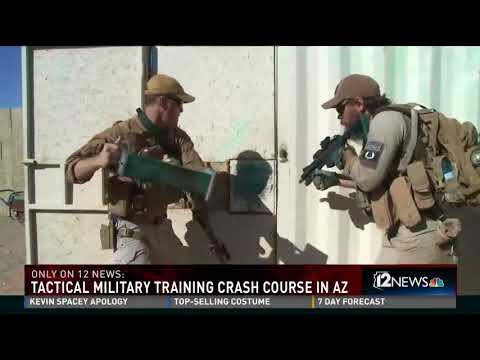 Special Operations training in Arizona with 12 news